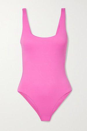 Croatia Swimsuit - Bright pink