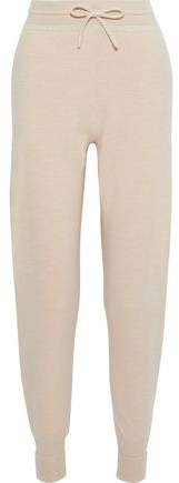 Intarsia Cashmere Tapered Pants