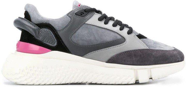 Low-Top Suede Sneakers