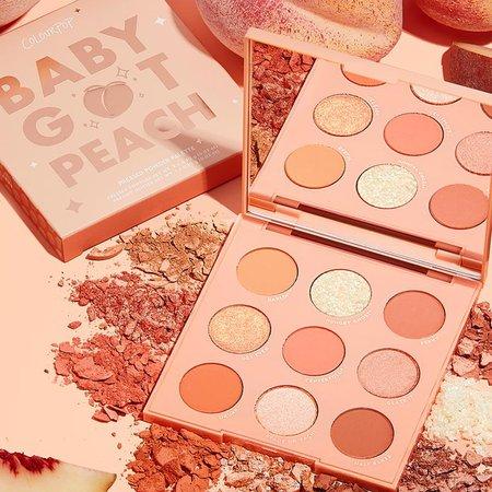 Baby Got Peach Eyeshadow Palette   ColourPop