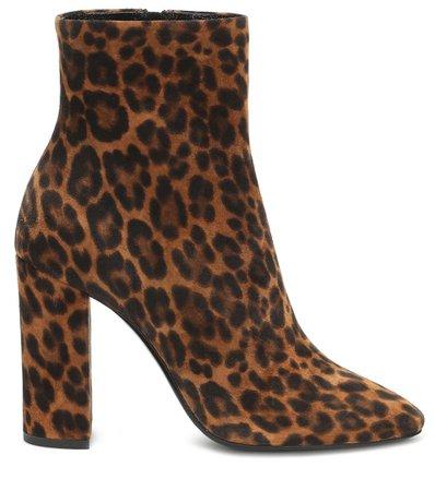Lou 100 Suede Ankle Boots | Saint Laurent - Mytheresa