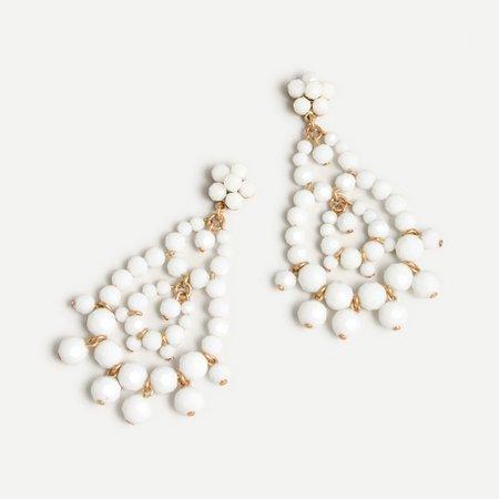 J.Crew: Dangly Beaded Statement Earrings For Women
