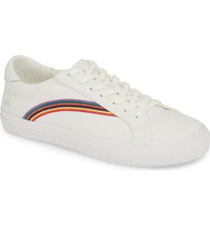 Madewell Delia Rainbow Sneaker (Women)   Nordstrom