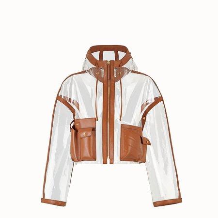 PU jacket - JACKET   Fendi