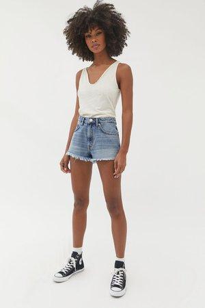 denim shorts pinterest model - Google Search