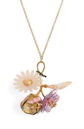 Lele Sadoughi Rapunzel Bouquet Pendant Necklace | Nordstrom