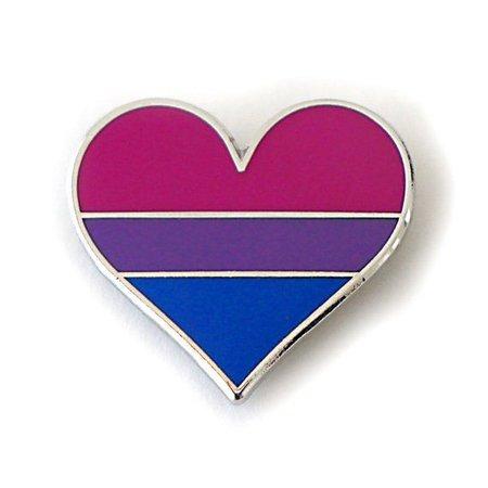 Bisexual Pride Pin