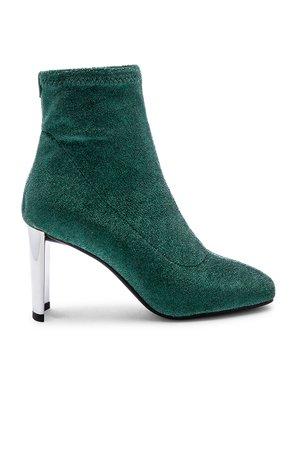 Metallic Sock Bootie