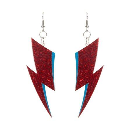 Bowie earrings, Ziggy Stardust earrings