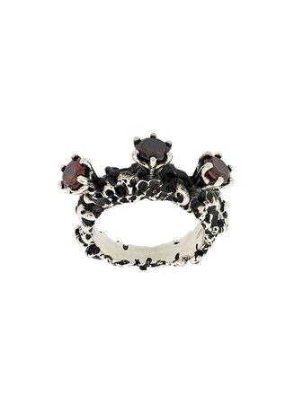 Voodoo Jewels Moon Ring VJMOONAG01MOONRING Metallic | Farfetch