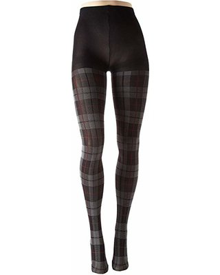 Plaid Hue Tights