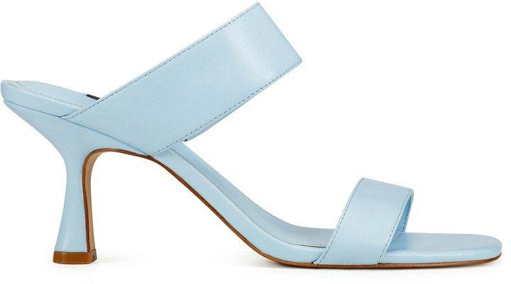 Net Heeled Sandals
