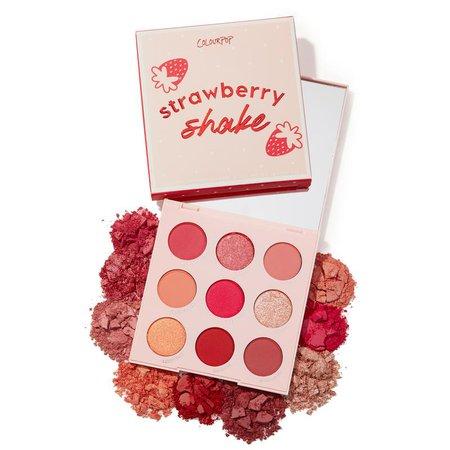 Strawberry Shake Pink Eyeshadow Palette | ColourPop