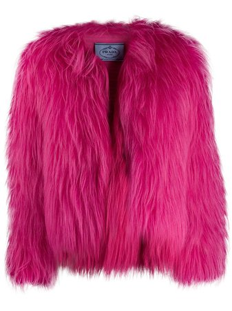Prada neon jacket pink 1655511UW2 - Farfetch