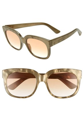 Gucci 56mm Sunglasses | Nordstrom