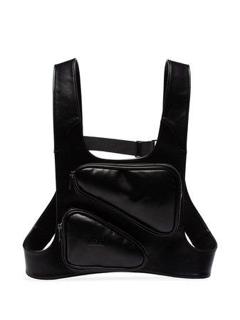 A-Cold-Wall* Harness Backpack ACWUG007WHL Black   Farfetch