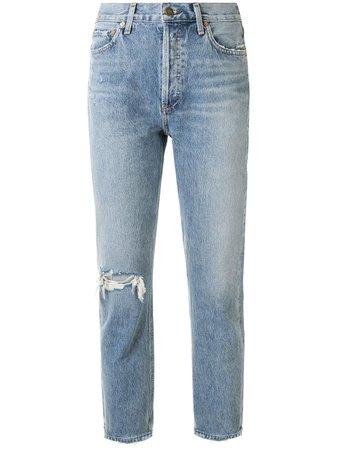 AGOLDE Jeans Capri Riley - Farfetch