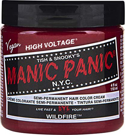 Amazon.com : Manic Panic Wildfire Red Hair Dye Color : Chemical Hair Dyes : Beauty