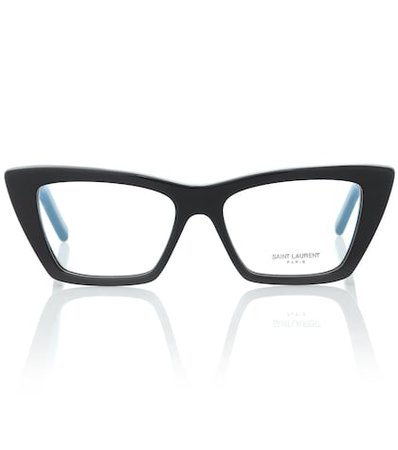 SL 291 cat-eye acetate glasses