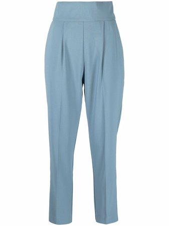 Pinko high-waisted Tailored Trousers - Farfetch