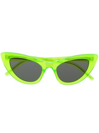 Saint Laurent Eyewear cat-eye Frame Sunglasses - Farfetch
