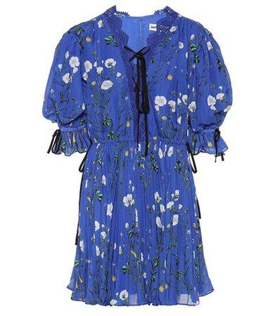Exclusive to mytheresa.com – Floral-printed crêpe minidress