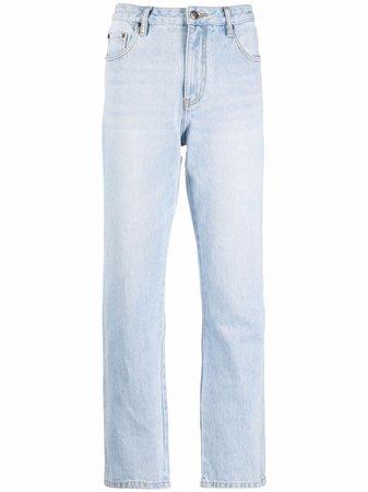 12 STOREEZ light-wash boyfriend jeans - FARFETCH
