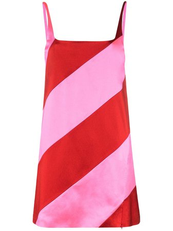 House Of Holland Striped Mini Dress - Farfetch
