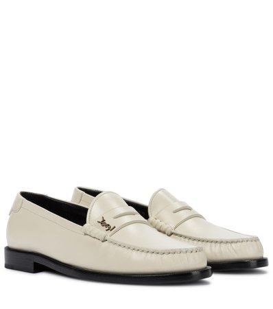 Saint Laurent - Le Loafer leather loafers | Mytheresa