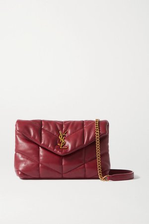 Loulou Toy Quilted Leather Shoulder Bag - Red