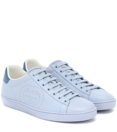 Sneakers New Ace In Pelle | Gucci - Mytheresa