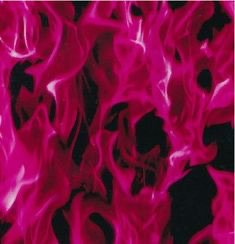 pink fire aesthetic