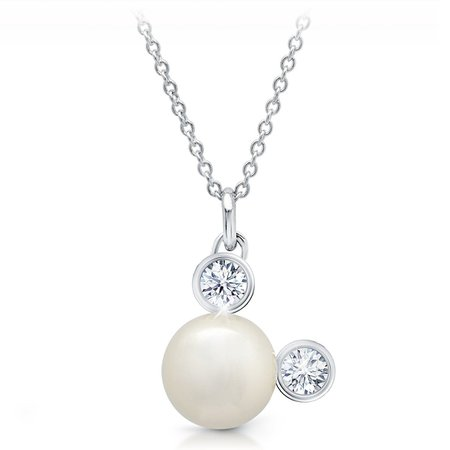 Mickey Mouse Pearl Necklace by CRISLU | shopDisney
