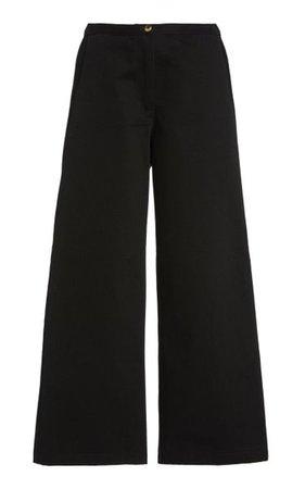 Orlando Cotton Wide-Leg Pants By Ciao Lucia | Moda Operandi