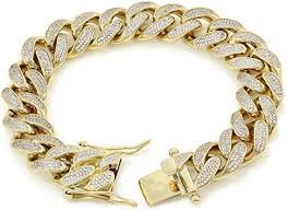 diamond cuban bracelet - Google Search