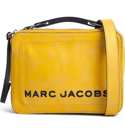 MARC JACOBS The Box Leather Handbag | Nordstrom