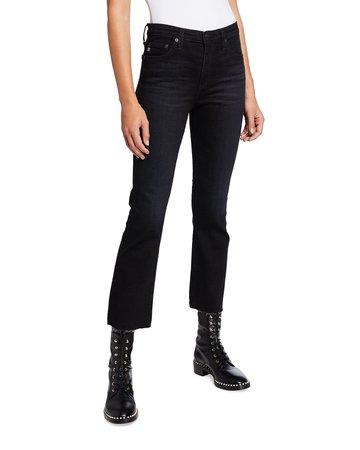 AG Jeans Jodi Crop Flare-Leg Jeans | Neiman Marcus