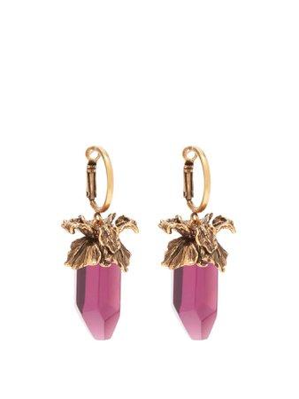 Quartz-drop earrings | Alexander McQueen | MATCHESFASHION.COM US