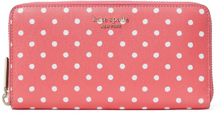 Spencer Dots Continental Wallet