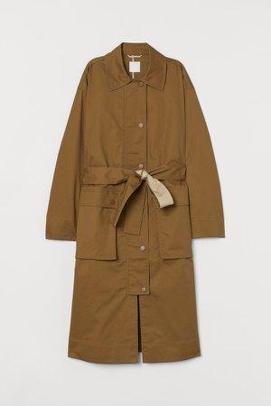 Oversized Coat - Beige
