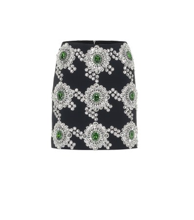 David Koma, Embellished cady miniskirt