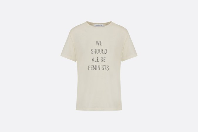 """We Should All Be Feminists"" T-shirt - Ready-to-wear - Woman 