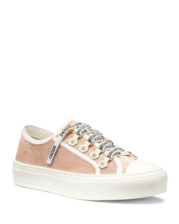 Dior Walk'n'Dior Velvet Sneakers