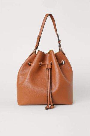 Large Bucket Bag - Orange