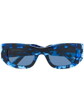 Balenciaga Eyewear Lunettes De Soleil Blow - Farfetch