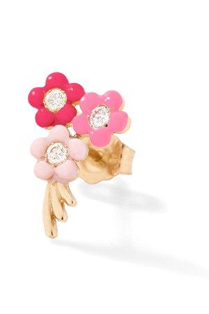 Bouquet of Flowers Stud - Earrings | Alison Lou