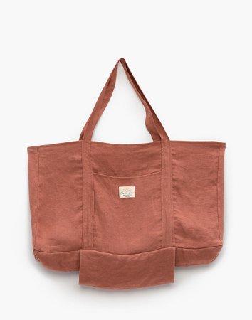 The Sunshine Series Hemp Reusable Market Tote Bag