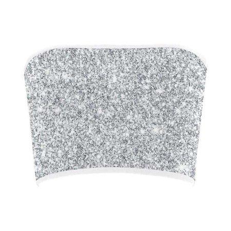 Silver Glitter Bandeau Top