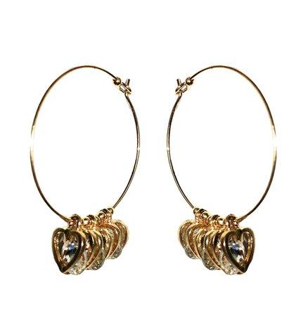 Tripple Heart Hoop Earrings – MY MUM MADE IT pty ltd