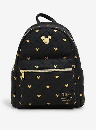 Loungefly Disney Mickey Mouse Quilted Mini Backpack
